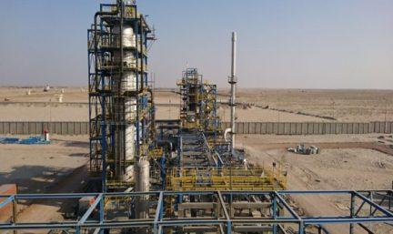Bitumen Blowing Plant